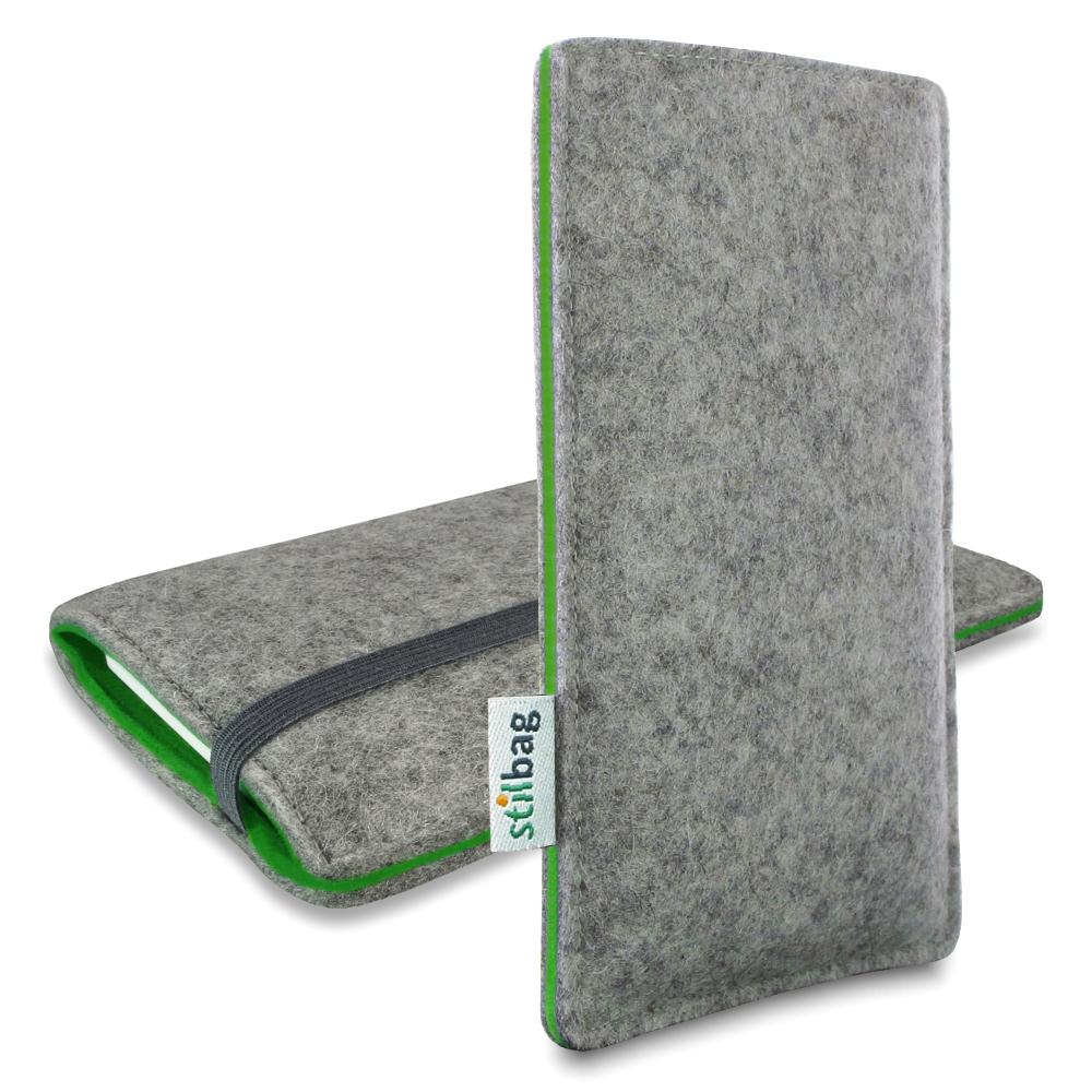 stilbag-Custodia-cellulare-Samsung-Galaxy-W-i8150-Etui-Feltro-Calzino-Borsa