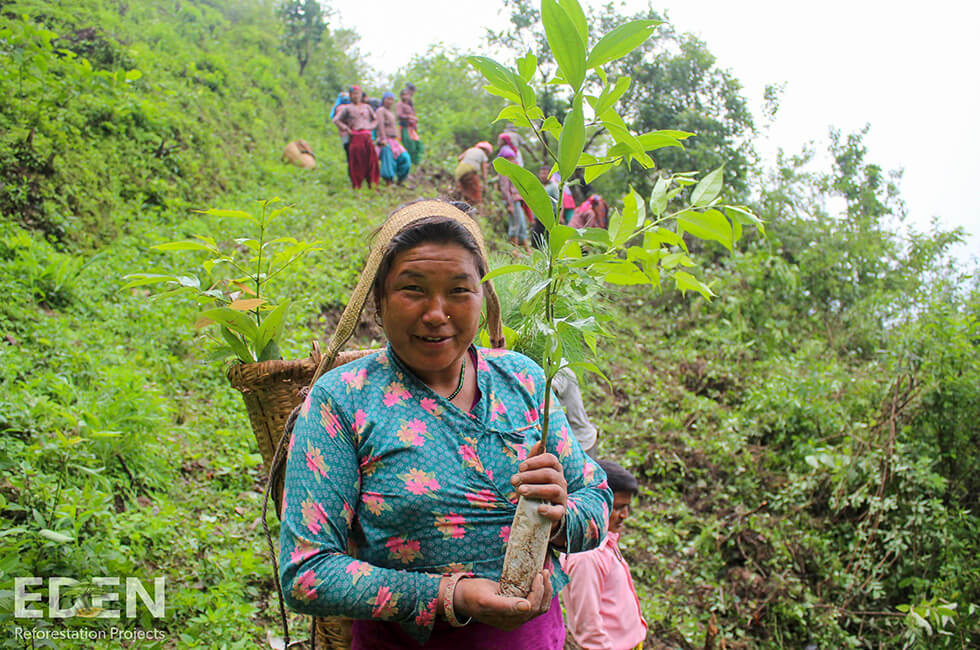 Eden Reforestation Projects in Nepal